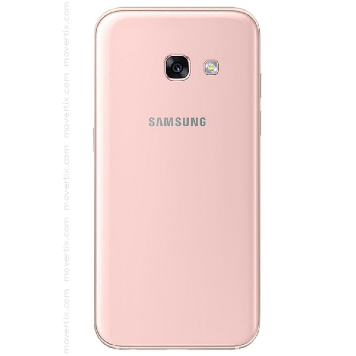 samsung galaxy a3 2017 pink 8806088620268 movertix mobile phones shop. Black Bedroom Furniture Sets. Home Design Ideas