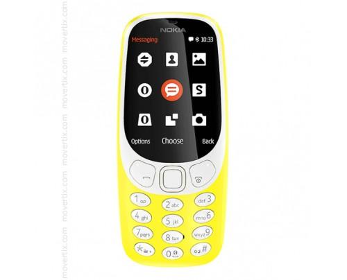 Nokia 3310 (2017) en Amarillo